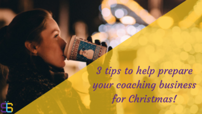 prepare coaching biz for xmas blog cover