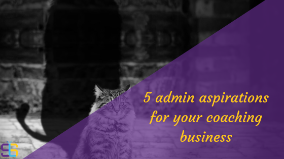Admin aspirations blog cover