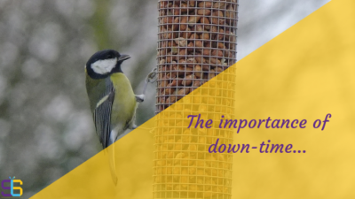 down-time blog post cover image